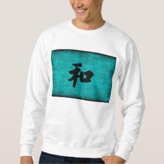 Harmonie in het Blauwe Schilderen van het Chinese Trui