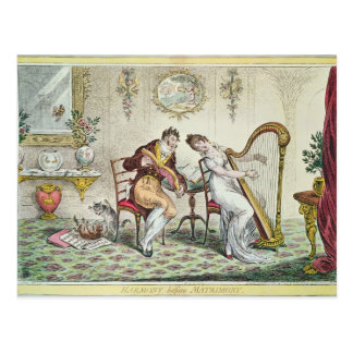 Harmonie vóór Huwelijk, 1805 Briefkaart
