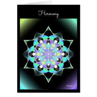 Harmonie Wenskaart