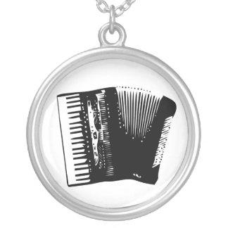 harmonika zilver vergulden ketting