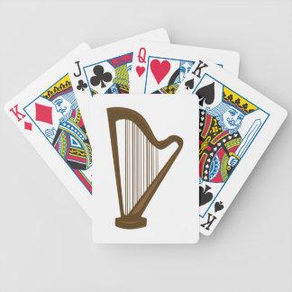 Harp Bicycle Speelkaarten