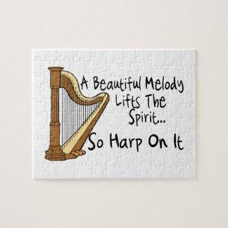 Harp op het puzzel