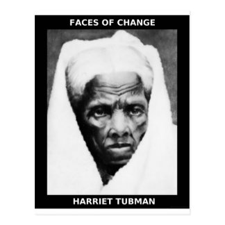 HARRIET TUBMAN BRIEFKAART