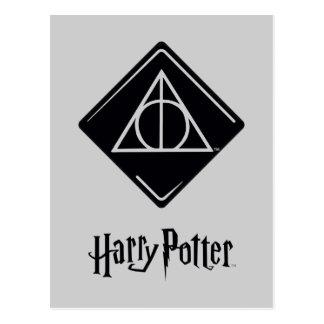Harry Dodelijk Potter | zegent Pictogram Briefkaart