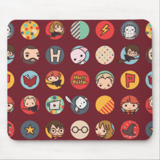 Harry Potter Cartoon Icons Pattern Muismatten