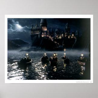Harry Potter Castle | Aankomst in Hogwarts Poster