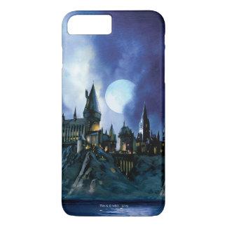 Harry Potter Castle | Hogwarts bij Nacht iPhone 8/7 Plus Hoesje