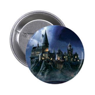Harry Potter Castle   Maanbeschenen Hogwarts Ronde Button 5,7 Cm