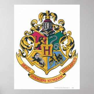 Harry Potter | CREST Hogwarts - Volledige Kleur Poster