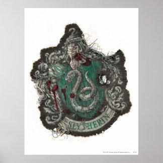 Harry Potter | CREST Slytherin - Wijnoogst Poster