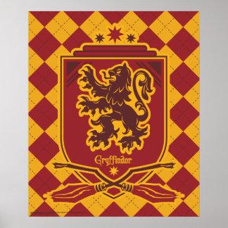 Harry Potter | CREST van Gryffindor QUIDDITCH™ Poster