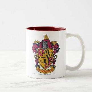 Harry Potter | CREST van het Huis Gryffindor Tweekleurige Koffiemok