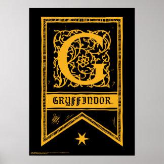 Harry Potter | de Banner van het Monogram Poster