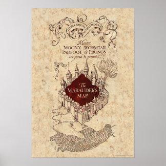 Harry Potter | de Kaart van de Stroper Poster