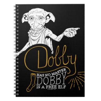 Harry Potter | Dobby heeft Geen Meester Ringband Notitieboek
