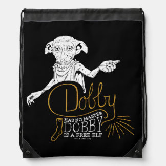 Harry Potter | Dobby heeft Geen Meester Trekkoord Rugzakje