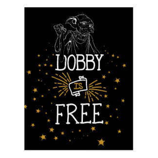 Harry Potter | Dobby is Vrij Briefkaart