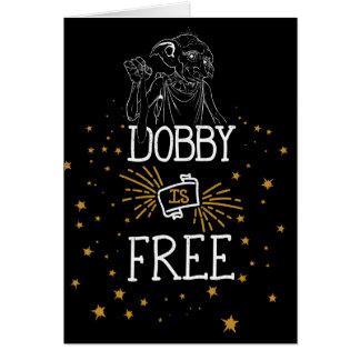 Harry Potter | Dobby is Vrij Wenskaart