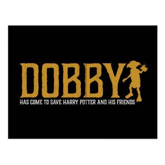 Harry Potter | Dobby redt Harry Potter Briefkaart