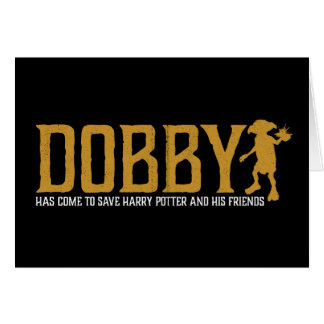 Harry Potter | Dobby redt Harry Potter Wenskaart