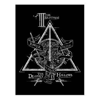 Harry Potter DODELIJK Spell   ZEGENT Grafisch Briefkaart