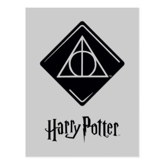 Harry Potter Dodelijk Spell | zegent Pictogram Briefkaart