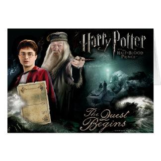 Harry Potter en Dumbledore Briefkaarten 0