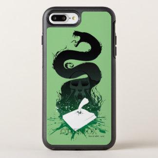 Harry Potter | Grafische de Agenda van Tom Riddle OtterBox Symmetry iPhone 8 Plus / 7 Plus Hoesje