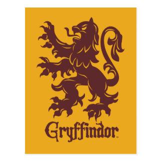 Harry Potter   Grafische Leeuw Gryffindor Briefkaart