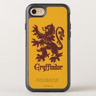 Harry Potter | Grafische Leeuw Gryffindor OtterBox Symmetry iPhone 8/7 Hoesje