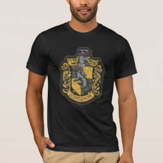 Harry Potter | het Flard van CREST Hufflepuff T Shirt
