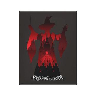 Harry Potter | het Leger van het Standbeeld van Canvas Afdruk