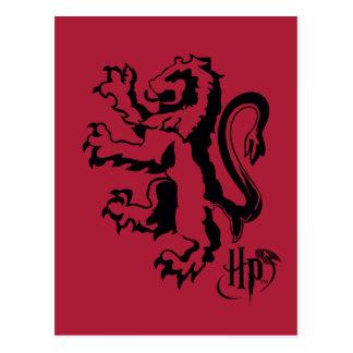 Harry Potter | het Pictogram van de Leeuw Briefkaart