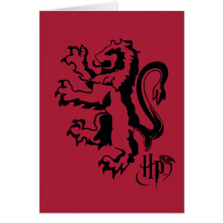 Harry Potter | het Pictogram van de Leeuw Briefkaarten 0