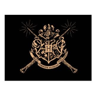 Harry Potter | Hogwarts Gekruist CREST van Briefkaart