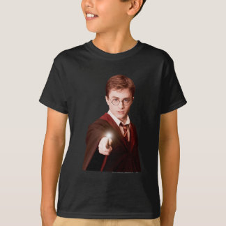 Harry Potter Points Wand T Shirt