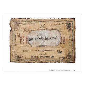 Harry Potter Spell | Bezoars Briefkaart