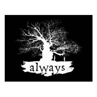 Harry Potter Spell | citeert altijd Silhouet Briefkaart