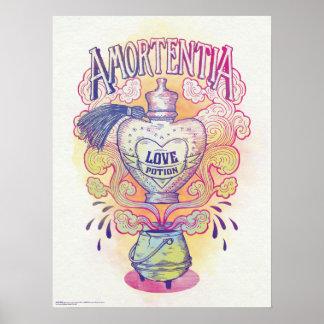 Harry Potter Spell | de Fles van het Drankje van Poster