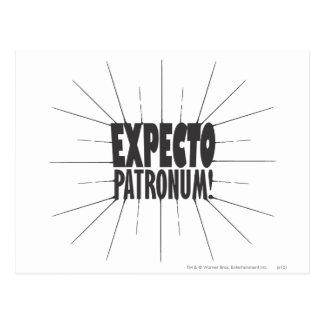 Harry Potter Spell | Expecto Patronum! Briefkaart