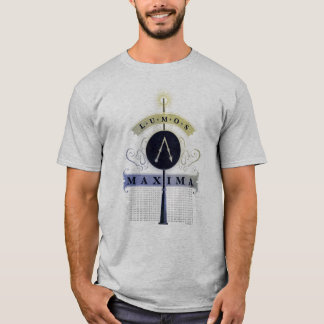 Harry Potter Spell | Grafische Maxima Lumos T Shirt
