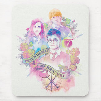 Harry Potter Spell | Harry, Hermione, & Ron Waterc Muismat