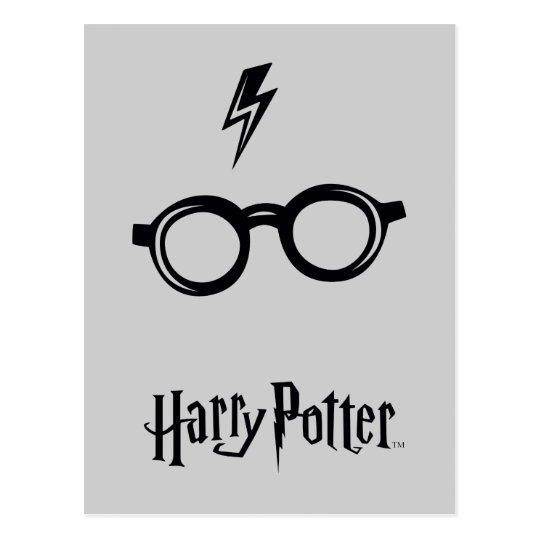 Bedwelming Harry Potter Spell | het Litteken en de Glazen van Briefkaart #IK63