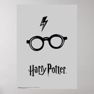 Harry Potter Spell | het Litteken en de Glazen van Poster