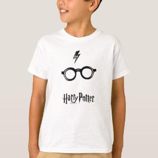 Harry Potter Spell | het Litteken en de Glazen van T Shirt