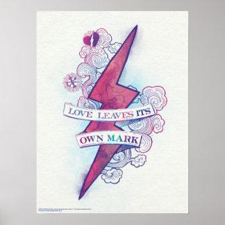 Harry Potter Spell | Liefde verlaat Zijn Eigen Poster