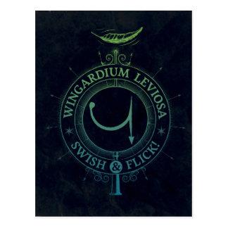 Harry Potter Spell | Wingardium Grafische Leviosa Briefkaart