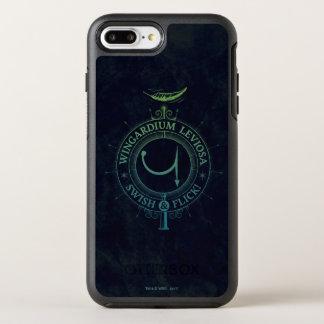 Harry Potter Spell | Wingardium Grafische Leviosa OtterBox Symmetry iPhone 8 Plus / 7 Plus Hoesje
