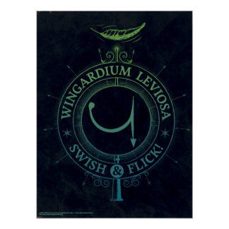 Harry Potter Spell | Wingardium Grafische Leviosa Poster