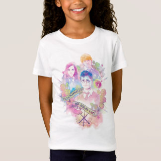 Harry Potter | Waterverf Harry, Hermione, & Ron T Shirt